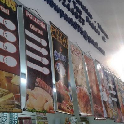 Banners Colgantes estándar para comercios