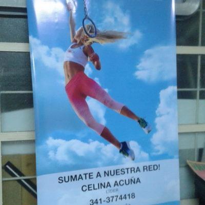Banner Colgante Celina Acuña