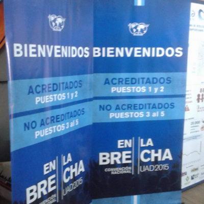 Banners Convención En La Brecha