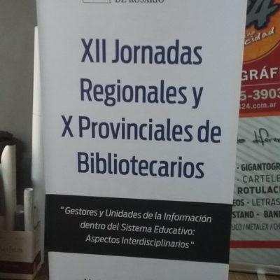 Banner Asoc. de Bibliotecarios Prof. de Rosario