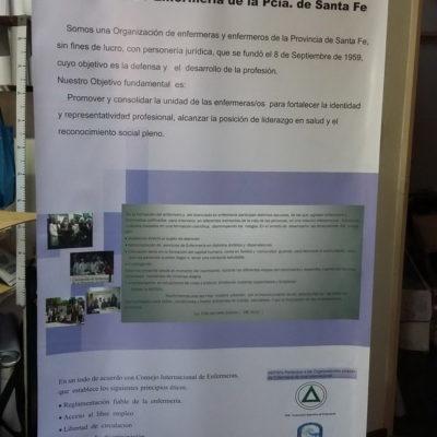 Banner Asoc. de Enfermería de la Pcia. de Santa Fe