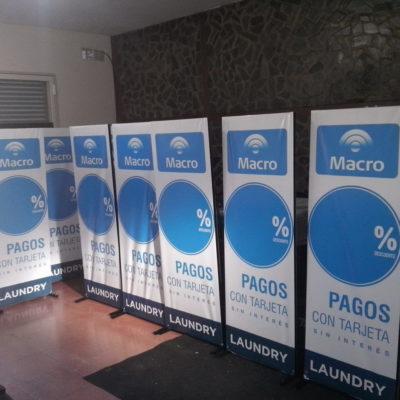 Banners Promo Macro en Laundry