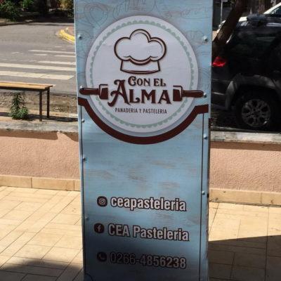 Banner Panadería Con el Alma