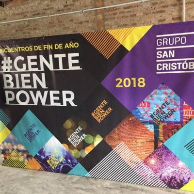 Fondo y Banner Grupo San Cristobal